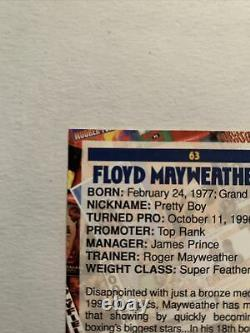 2001 Floyd Mayweather Browns Boxing Card #63 Looks Like a 10 Or 9 Grade