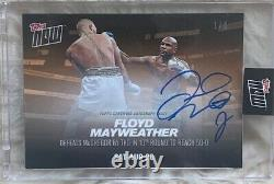 2017 Topps NOW Boxing Floyd Mayweather Auto Card #1/5 MM4D