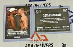 2017 Topps Now MM1 MM2 MM3 MM4 MM5 MMB1 Floyd Mayweather Conor McGregor set /301