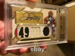2017 Topps Triple Threads Floyd Mayweather Relic Autograph Bgs 9.5 10 Auto 01/18