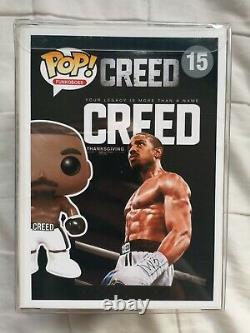 Adonis Creed Creed Custom Funko Pop with Protector