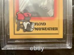 BGS 7 Psa 8-9 1997 Brown's Boxing Floyd Mayweather Jr -ROOKIE RC #51 GOAT &
