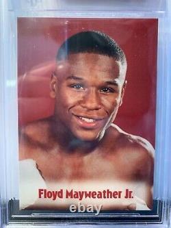 BGS 9.5 Gem Mint2001 Browns Boxing FLOYD MAYWEATHER JR. 13th Set #633rd RC
