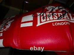 Connor McGregor and Floyd Mayweather Jr Signed Autographed Boxing Glove