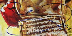 FLOYD MAYWEATHER JR ROBERT GUERRERO Signed 18x24 Poster PSA/DNA COA Autograph