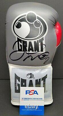 FLOYD MAYWEATHER JR. Signed Autographed GRANT Boxing Glove. Witness PSA/DNA