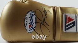 FLOYD MAYWEATHER JR Signed Glove @ LOGAN PAUL Fight On 6/6/21 In Miami PSA/DNA