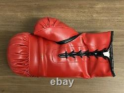 FLOYD MAYWEATHER JR signed Everlast Boxing Glove MONEY Auto Autograph PSA/DNA