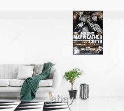 FLOYD MAYWEATHER JR vs. MIGUEL COTTO Original HBO PPV Boxing Fight Poster 30