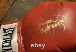 FLOYD MAYWEATHER /MANNY PACQUIAO Signed Set Of EVERLAST GLOVES