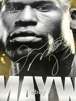 FLOYD MAYWEATHER v ROBERT GUERRERO, Duel Signed Original fight Poster