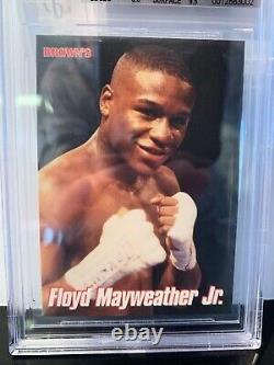 Floyd Mayweather 1999 Browns 12th Set BGS 9 MINT SUPER RARE! 2nd Rookie Card