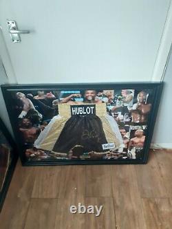 Floyd Mayweather Autograph Hand signed Trunks Shorts Boxing Memorabilia COA PSA