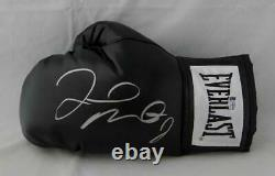 Floyd Mayweather Autographed Black Everlast Boxing Glove Beckett Auth