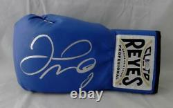Floyd Mayweather Autographed Blue Cleto Reyes Boxing Glove Beckett Authentic