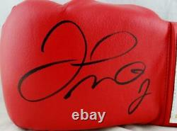 Floyd Mayweather Autographed Red Cleto Reyes Boxing Glove Beckett Authentic