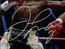 Floyd Mayweather Autographed/Signed 11X14 Photo PSA Signed In White b