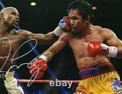 Floyd Mayweather Autographed Signed 11 x 14 photo picture Beckett COA