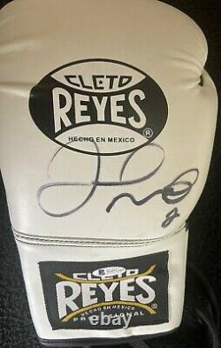 Floyd Mayweather Autographed Signed Cleto Boxing glove Beckett COA