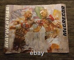 Floyd Mayweather Conor McGregor Boxing OFFICIAL POSTER FREE SHIP WORLDWIDE 2000