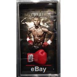 Floyd Mayweather Hand Signed Framed Everlast Boxing Glove Tyson Ali Mcgregor