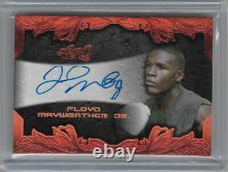 Floyd Mayweather Jr 2017 Leaf Q Copper Autograph Auto Sp Boxing Card Ba-fm1