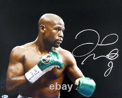 Floyd Mayweather Jr. Authentic Autographed Signed 16x20 Photo Beckett Bas 159715
