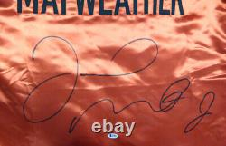 Floyd Mayweather Jr. Authentic Autographed Signed Red Boxing Robe Beckett 121818
