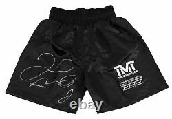 Floyd Mayweather Jr. Authentic Signed LE 26/500 Boxing Trunks BAS Wit #P93294
