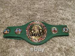 Floyd Mayweather Jr Auto Full Size Wbc Belt Beckett Coa