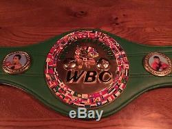 Floyd Mayweather Jr Auto Full Size Wbc Belt Beckett Coa Xmas Special