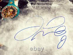 Floyd Mayweather Jr. Autographed 16x20 Photo Pacquiao & McGregor JSA WPP775507