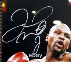 Floyd Mayweather Jr. Autographed 16x20 Photo Vs. Pacquiao Beckett COA I61255