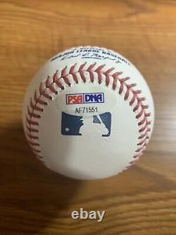 Floyd Mayweather Jr Autographed Baseball PSA/DNA Authenticated