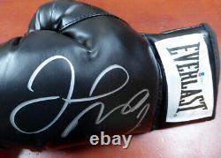 Floyd Mayweather Jr. Autographed Black Everlast Boxing Glove Lh Beckett 121798