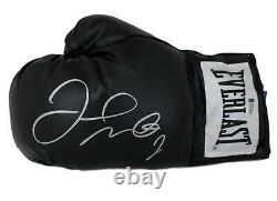Floyd Mayweather Jr Autographed Everlast Black Left Hand Boxing Glove BAS 19964