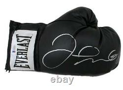 Floyd Mayweather Jr Autographed Everlast Black Right Hand Boxing Glove BAS 19963