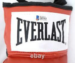 Floyd Mayweather Jr. Autographed Everlast Boxing Glove Lh Tbe Beckett 159649