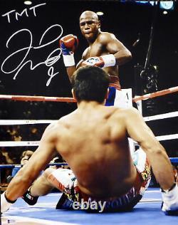 Floyd Mayweather Jr. Autographed Signed 16x20 Photo Tmt Beckett Bas 159711