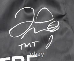 Floyd Mayweather Jr. Autographed Signed Black Boxing Trunks Tmt Beckett 159667