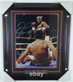 Floyd Mayweather Jr. Autographed Signed Framed 16x20 Photo Beckett 125704