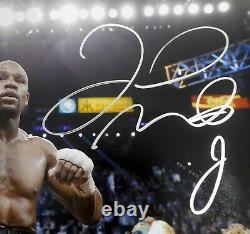 Floyd Mayweather Jr. Autographed Signed Framed 16x20 Photo Beckett Bas 162399