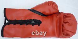 Floyd Mayweather Jr. Autographed Signed Red Everlast Boxing Glove Lh Jsa 178295