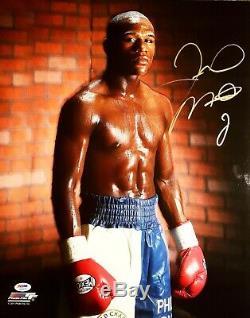 Floyd Mayweather Jr, EXTREMELY RARE, signed 16x20 photo, PSA/DNA, free ship