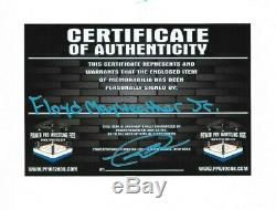 Floyd Mayweather Jr Hand Signed Autographed Boxing Trunks With Proof And Coa 4