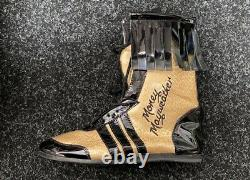 Floyd Mayweather Jr Hand Signed Boxing Boot