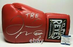 Floyd Mayweather Jr Signed 21 Giant Boxing Cleto Reyes Glove TBE BAS WD96516