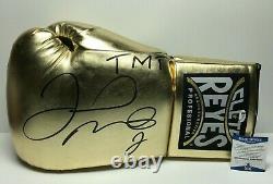 Floyd Mayweather Jr Signed 21 Giant Boxing Cleto Reyes Glove TMT BAS WD96515