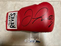 Floyd Mayweather Jr Signed Autographed Cleto Reyes Boxing Glove Beckett Y63421