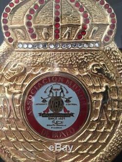 Floyd Mayweather Jr, Signed Belt, Boxing, memorabilia, Autograph, MINT